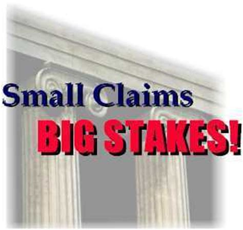 Small Claims Court Search Consumer S Guide To Small Claims Court