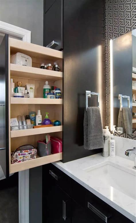 Bathroom Built In Storage Ideas by 25 Best Built In Bathroom Shelf And Storage Ideas For 2018