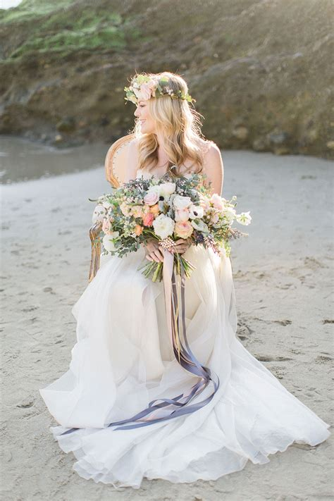 styled shoot beach wedding inspiration exquisite weddings