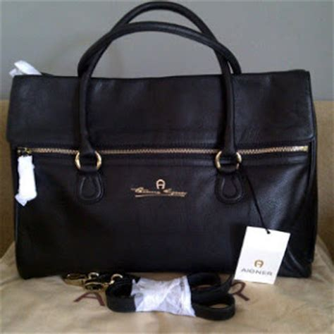 Aigner Munich For S Handbag 10277a coach fever mania sell original handbags in malaysia new aigner munich flap leather bag