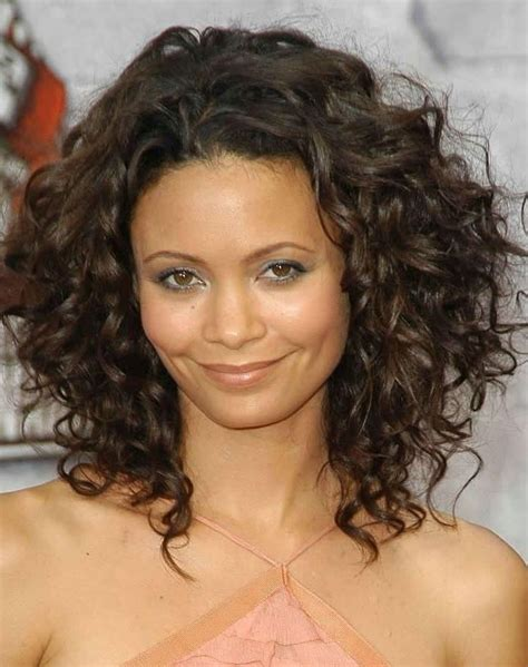 Hairstyles For With Thick Curly Hair by Best 25 Thick Curly Haircuts Ideas On Curly