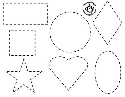 for printable get this easy shapes coloring pages for preschoolers 9iz28