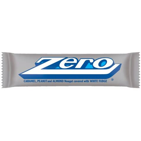 top 100 candy bars zero candy bar 1 85 ounce packages pack of 24
