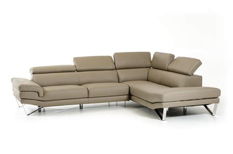 italian sectional sofas online david ferrari aria grey italian leather sectional