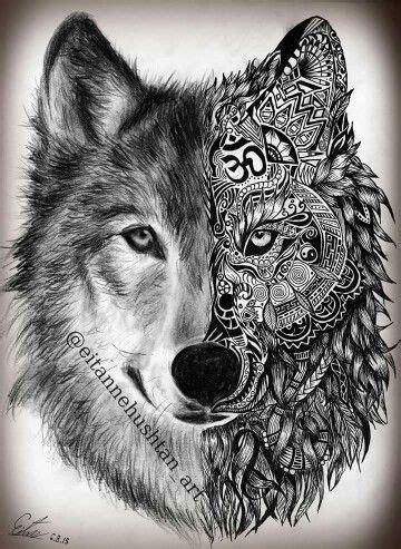 cool wolf tattoo designs 46 unique wolf tattoos ideas