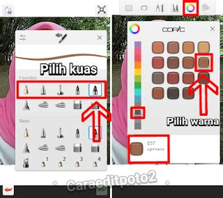 Tutorial Edit Foto Smudge | tutorial lengkap edit foto kartun smudge painting android