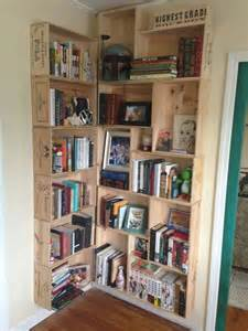 Wine Crate Bookshelves 15 Methods To Turn Wine Crates Into Something Else