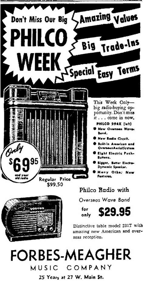 "Philco Model 41-231T ""Bullet"" Table Radio"