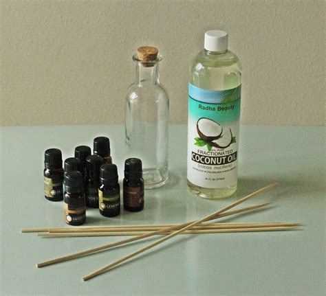 diy light diffuser material diy aromatherapy reed diffuser