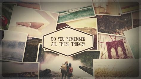 after effect slideshow template storyline sentimental slideshow after effects template