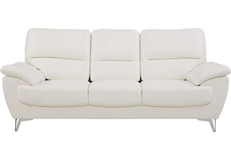 northway white sofa sofas white