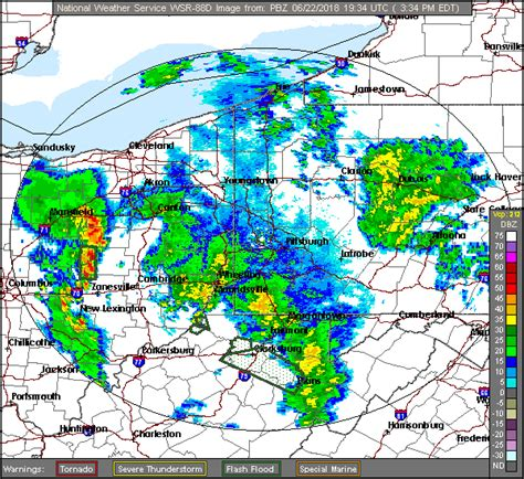 local radar weather forecast national weather service radar from pittsburgh pa