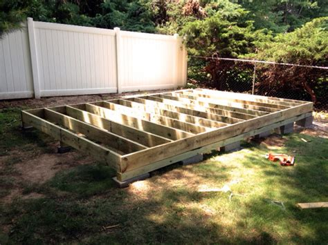 Building Shed On Skids by How To Build A Storage Shed From Scratch Step By Step Tutorial For Diyers