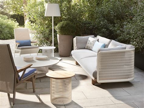 buy the kettal mesh three seater sofa at nest co uk