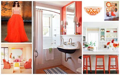 Tangerine Home Decor Home D 233 Cor Trend 2012 Tangerine Tango