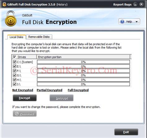 ex 4 0 serial gilisoft disk encryption 4 0 serial key free