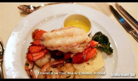 hd carnival cruise food tour overview dinner lido