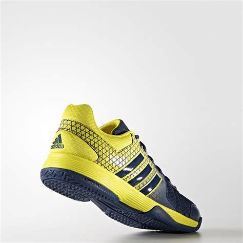 yellow adidas sneakers adidas ligra 4 mens yellow blue indoor sports sneakers