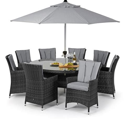 Rattan Furniture maze rattan la 8 seat rattan garden furniture set
