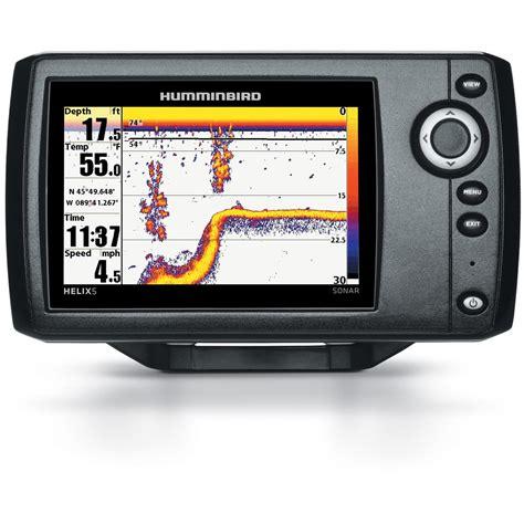 humminbird helix 5 sonar pt fishfinder 634250 fish