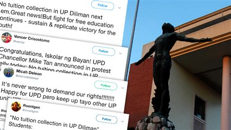 Mba Up Diliman Tuition Fee by Students React To No Tuition Collection In Up Diliman