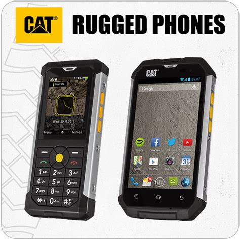 Cat Rugged Phone by Rugged Phone Mobilemars