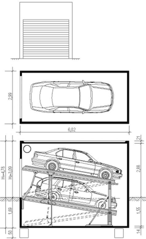 garage abmessungen doppelgaragen parkliftgarage produkte