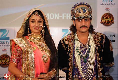 film seri jodha press conference of tv serial jodha akbar photos