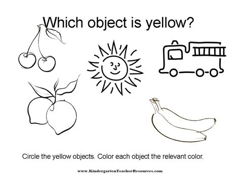 preschool yellow coloring pages yellow wallpaper worksheet wallpapersafari