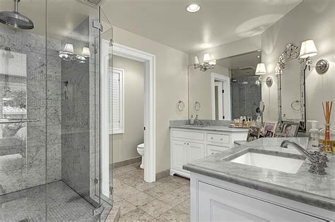 marble shower contemporary bathroom house crush