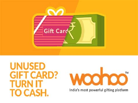 Where To Cash In Unused Gift Cards - woohoo app turns your unused gift cards to digital cash business standard news
