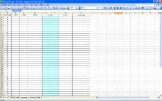 create your own soccer league fixtures and table excel