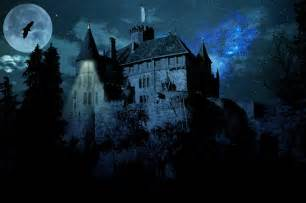 free illustration haunted castle ghost castle free