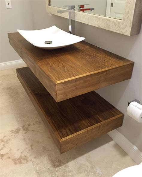 Custom Floating Bathroom Vanity Our Portfolio Custom Made Bathroom Vanities