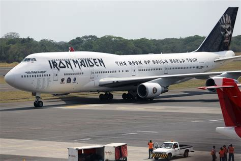 Eddie And The Jets Book Reports by Iron Maiden S Ed One Plane Badly Damaged In