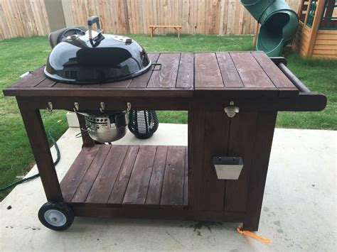 Grille Barbecue Weber by Custom Weber Bbq Grill Cart With Chest Weber Grill