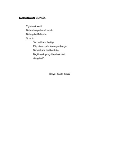 cara membuat puisi anak sd kumpulan puisi dan unsur intrinsiknya
