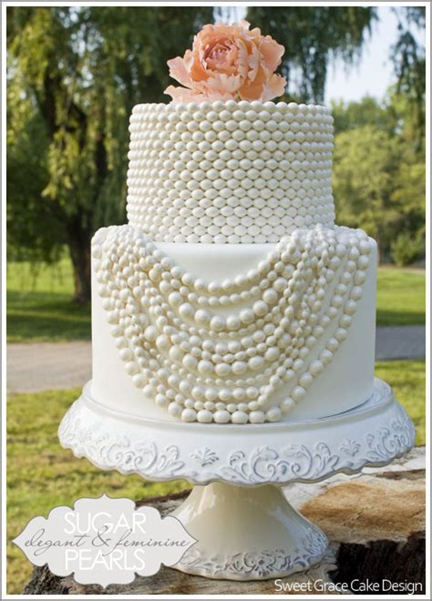 Pearl Cake coco chanel pearl cakes
