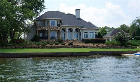 Homes Lake by Jackson Lake Houses Waterfront Lake Homes Near Atlanta Ga