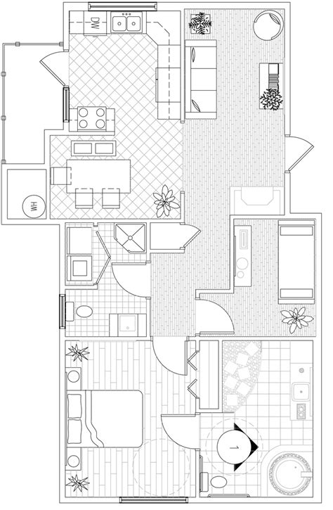 small space floor plans this is the floor plan for a barrier free project we had to make everything accessible to a