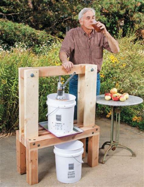 build an easy diy cider press quarto homes