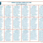 printable nfl schedule one page one page 2015 nfl schedule football weblog