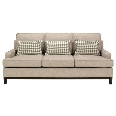 houndstooth sofa couch with tan houndstooth for the home pinterest