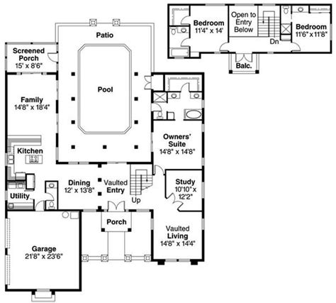 spanish floor plans spanish style decks spanish style home floor plans