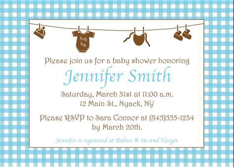 Exles Of Baby Shower Invitations by Exle Of Baby Shower Invitation Website Resume Cover Letter