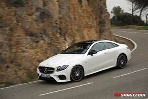 Mercedes Benze 2017 Mercedes E Class Coupe Review Gtspirit