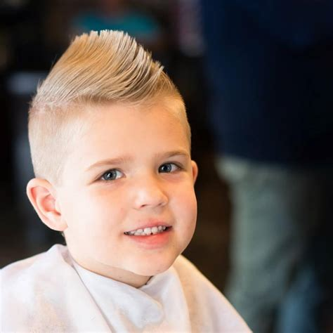 Mohawk Hairstyle For Boys by 31 Cutest Boys Haircuts For 2018 Fades Pomps Lines More