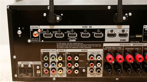 sony str dn review connected av receiver boasts big
