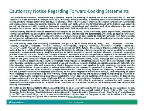 section 47 banking act seacoast banking corporation of florida sbcf presents at