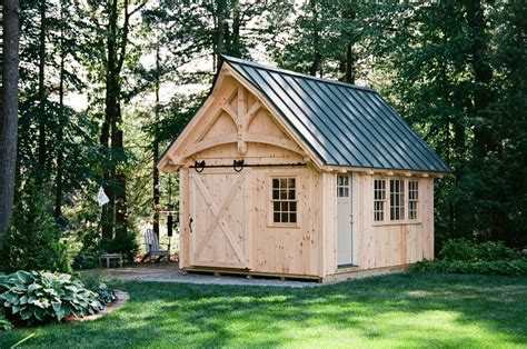 grand victorian timber frame shed  barn yard great